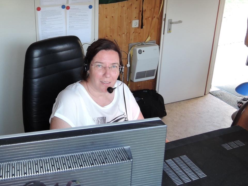 Tina in der QSO Parts